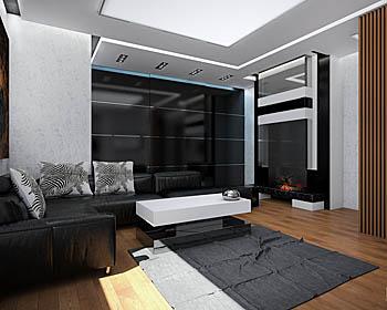 Студия дизайна ElenDesign - проект Квартира-студия на Хорошевском шоссе